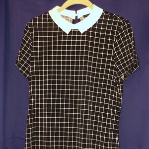 Limited short sleeve blouse